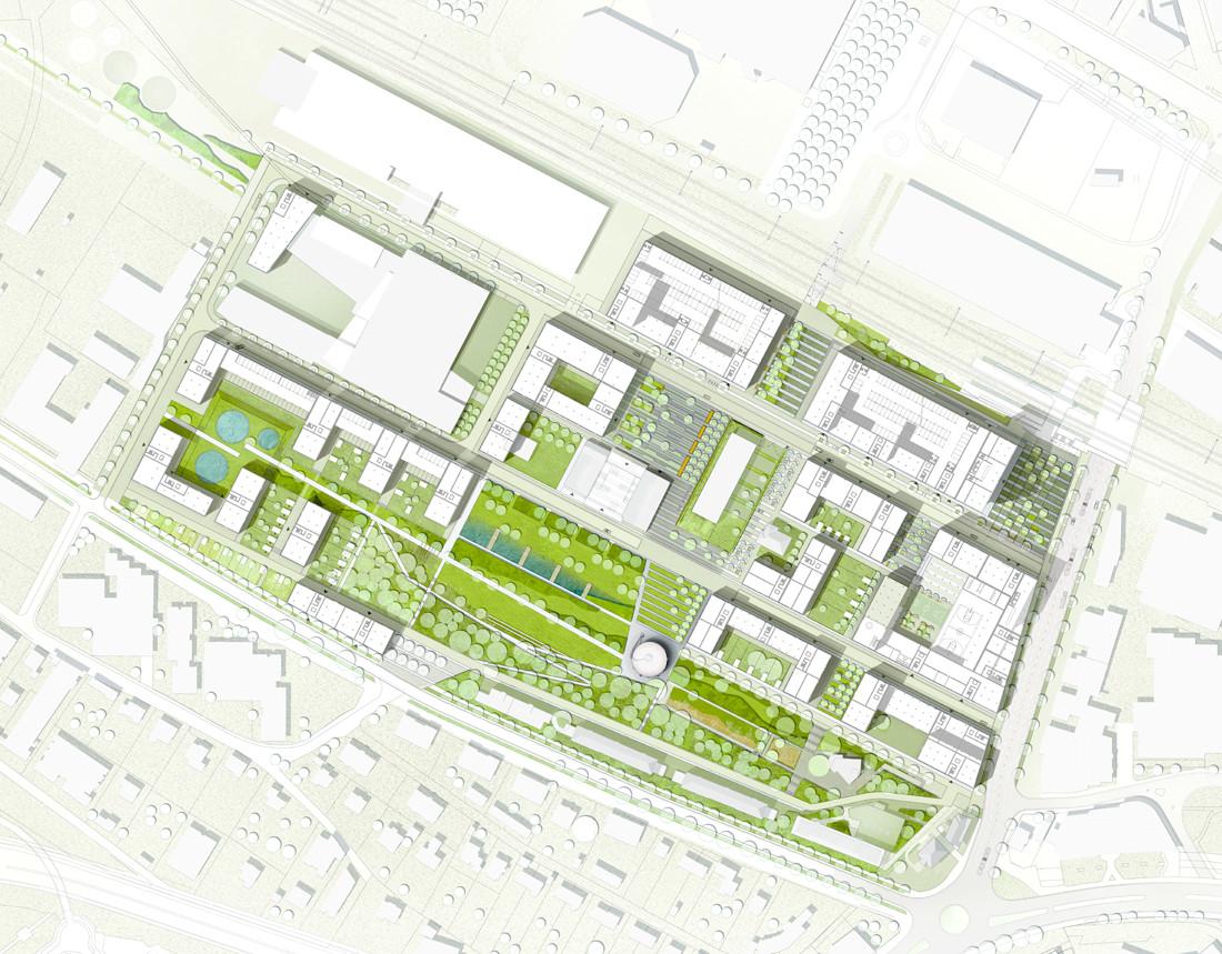 Malley-centre-lausanne-plan